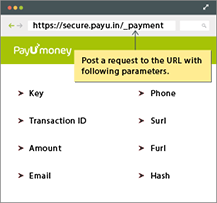 Payment API request