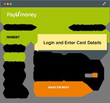 User Enter details