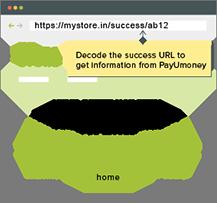 Paymet response handle